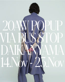 POP UP STORE AT VIA BUS STOP MUSEUM
